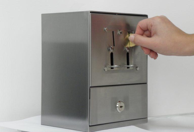 Egyedi fizetőeszköz - LS Coin box 1